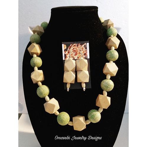 Ethnic Necklace & Earring Set