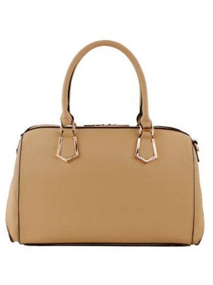 Lg Tan Satchel Handbag