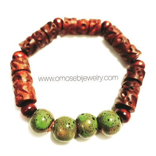 4 Bead Men's Bracelet