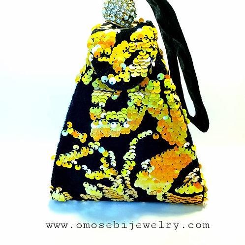 Vintage Wrist Strap Handbag