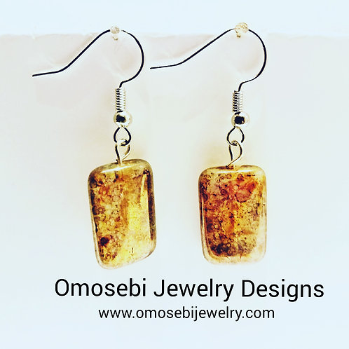 Bronzy Earrings