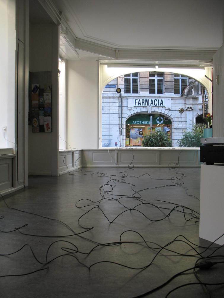 Ausstellung: Raum sprich mit mir, Gastspiel 2016, DOCK, Basel