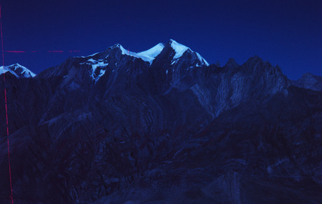 MOUNTAINS ABOVE MUKTINATH #1