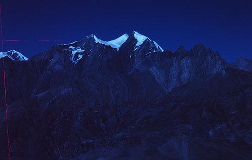 MOUNTAINS ABOVE MUKTINATH #1