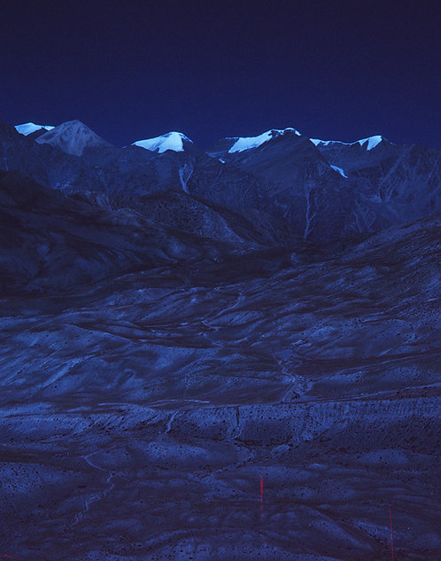MOUNTAINS ABOVE MUKTINATH #2