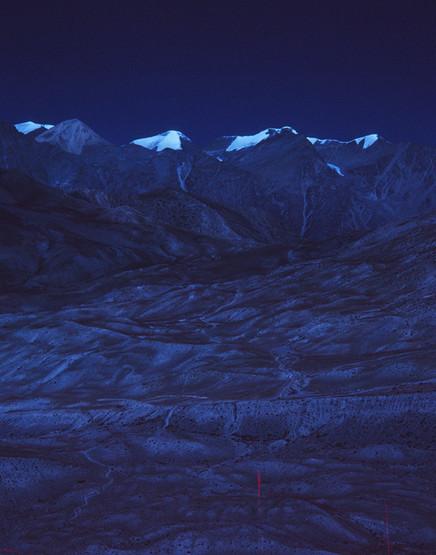 MOUNTAINS ABOVE MUKTINATH #2