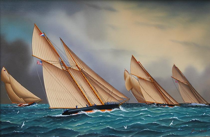 American Yachts Racing