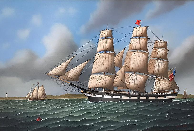 The Boston Ship Carnatic