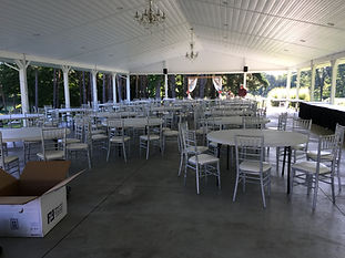 Rentals (Tents/Tables/Chairs etc.)