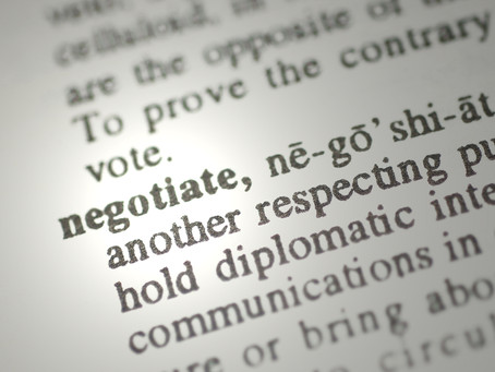 5 Tips for Negotiations