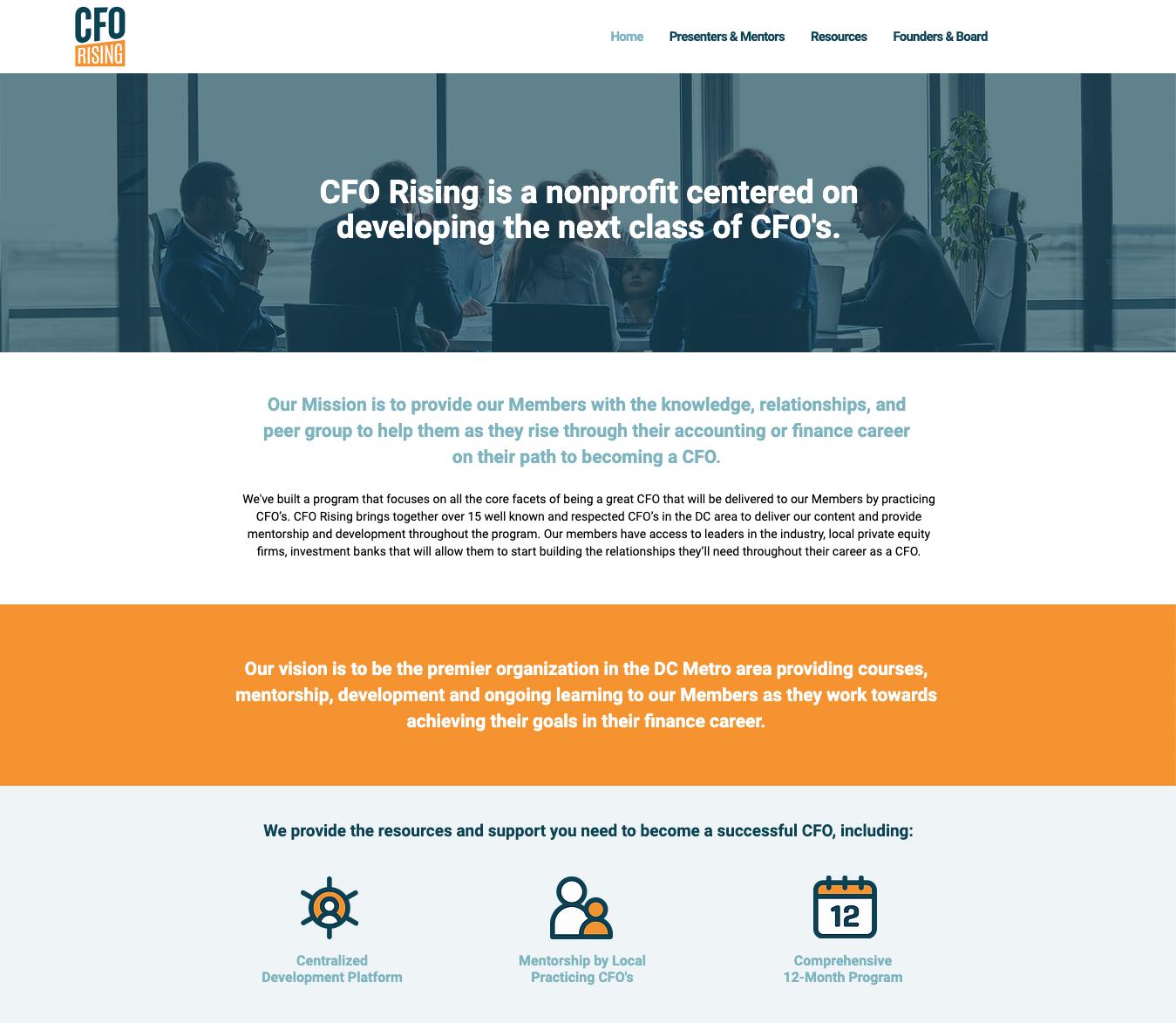 CFO Rising Official Website