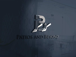 Patios & Beyond 3D Logo