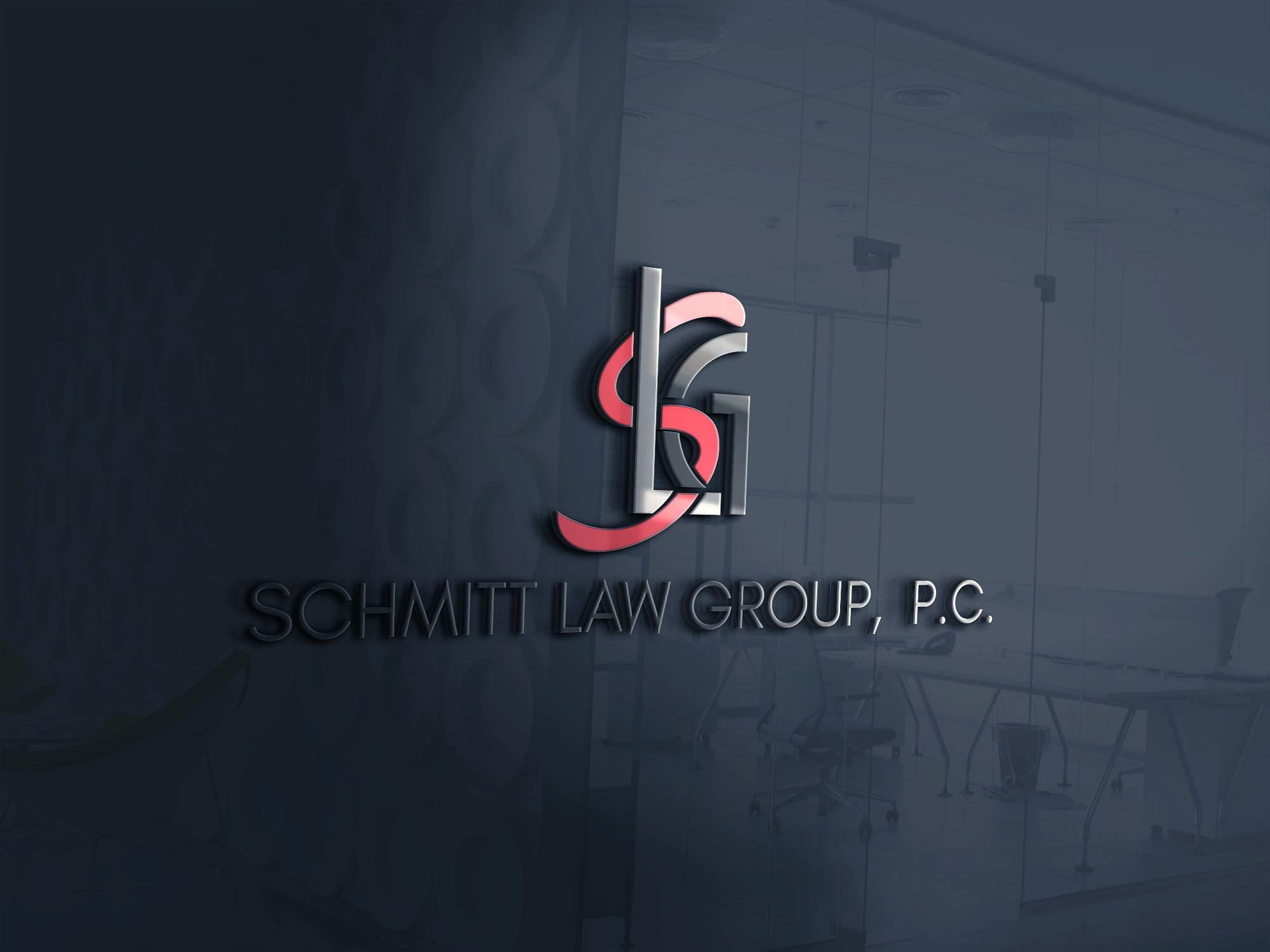 Schmitt Law Group Logo 3D