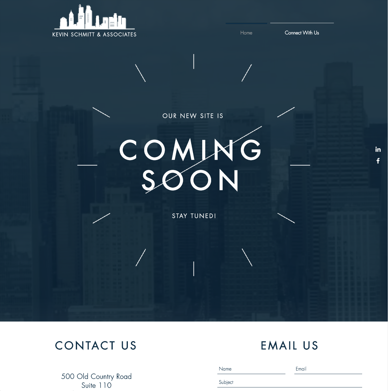 Kevin Schmitt and Associates Landing Page