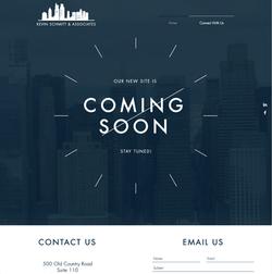 Kevin Schmitt and Associates Landing Page