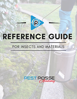 Reference Guide for Insects and Material
