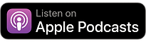 Apple Podcast black icon