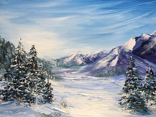 Зимнее утро / Winter morning