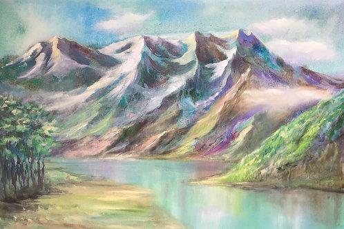 Светящиеся горы / Mountains
