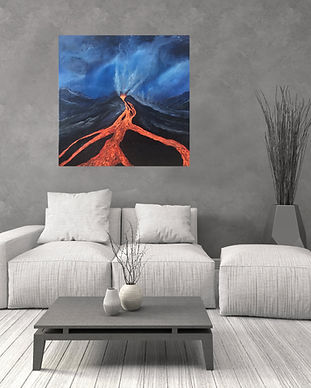 художница Анастасия Стрижкова, artist Anastasia Strizhkova, acrylic painting