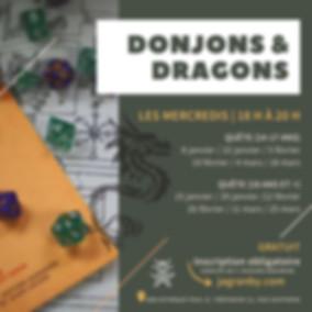 Donjons & Dragons - affiche promo 2020.j