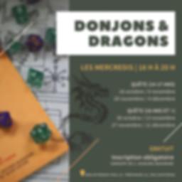 Donjons & Dragons - affiche promo 2019.j