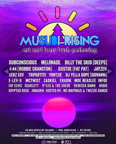 August 2-3 Musubi art and bush gathering