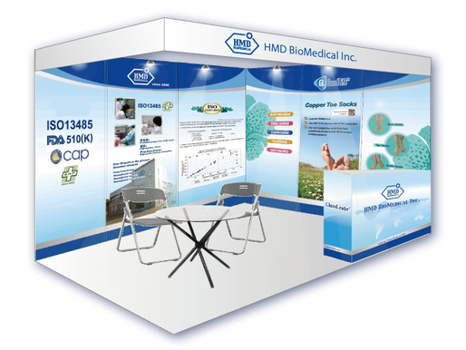 """HMD's Booth at """"28st Indonesian Hospital Expo 2015"""""""