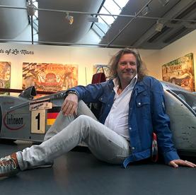 Artist Bernd Luz