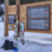 ATC Avalanche Training Center  Freerid Base Laax / Switzerland