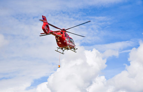 Aiut Dolomit, Gröden , Helicopter, Personensuche, LVS Suche, Avalanche Rescue