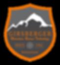 Girsberger Mountain Rescue Technology, Since 1966, Switzerland, Logo, Emblem, Mountain, Grey, Orange, Snow Flacke