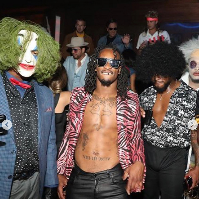 TODD GURLEY RICK JAMES COSTUME