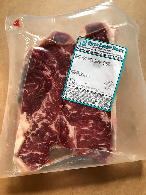 4H NY Strip Steaks