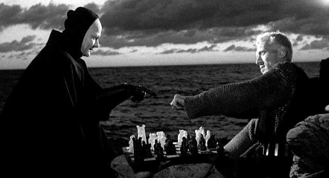 scene from Ingmar Bergman's 'The Seventh Seal'.