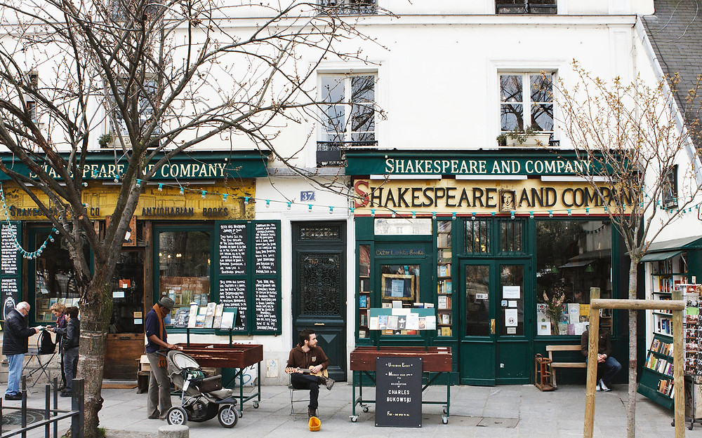 Shakespeare and Company - and James Joyce's 'Ulysses'. The scandal!