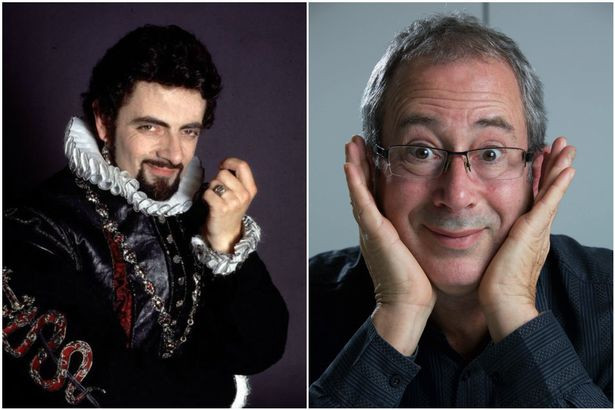 Ben Elton (he's the one on the right)
