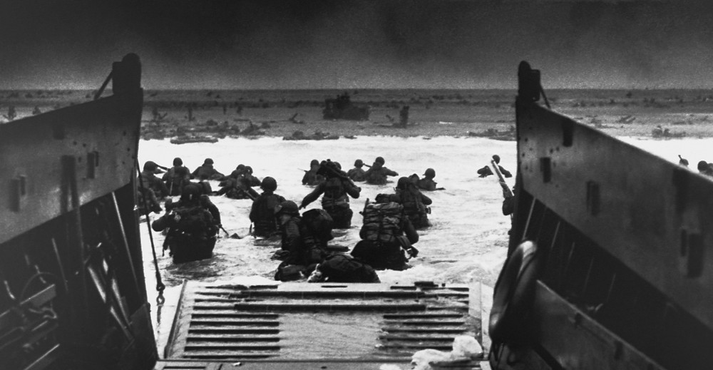 D-Day Omaha Beach, 6 June 1944