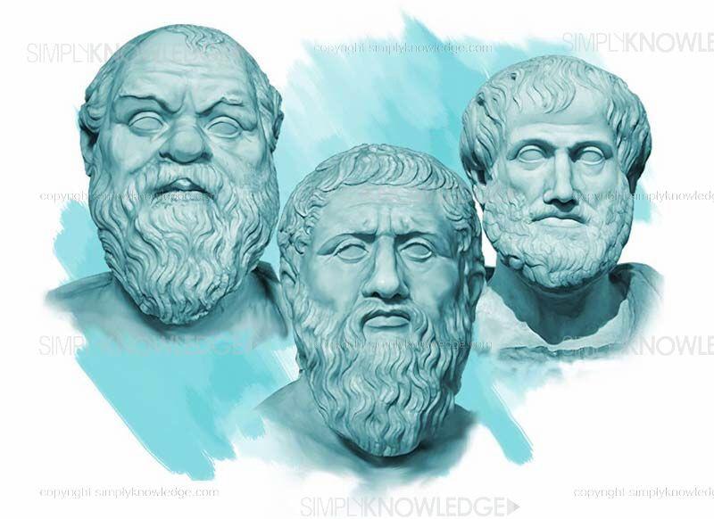 Socrates. Plato. Aristotle.