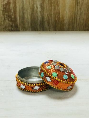 Handmade Indian Mini Trinket tins/Gift Boxes - Handmade for Sabirian