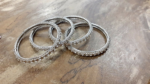 Set of four Indian Bangles