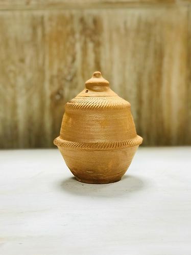 Handmade NO cheating savings clay smash money box - Handmade For Sabirian