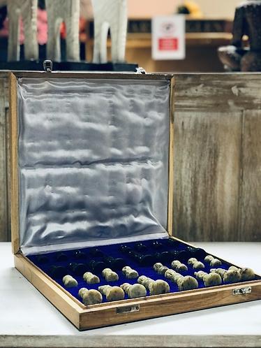 Handmade Traditional Stone Chess Set - Handmade For Sabirian