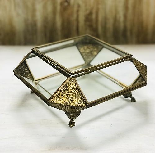 Handmade Glass Jewellery Box - Made For Sabirian