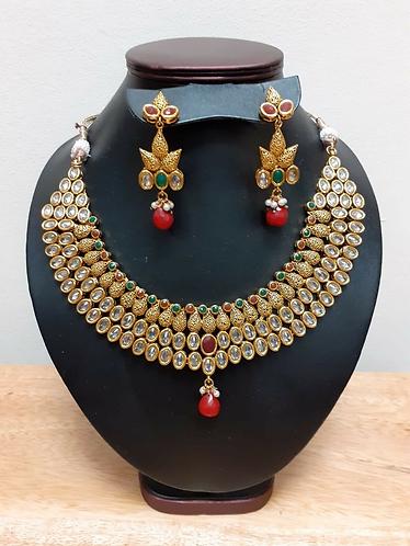 Handmade Traditional Indian Wedding Jewellery set - Handmade for Sabirian