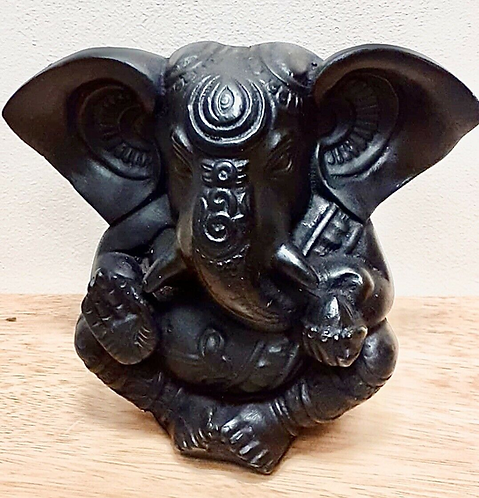 5� Resin Baby Lord Ganesha Statue - Handmade For Sabirian