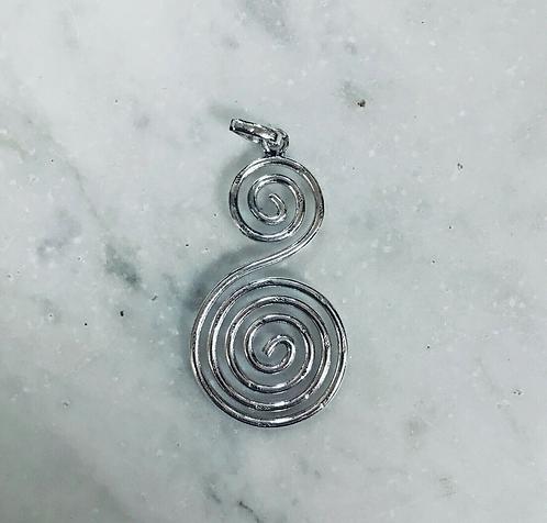 Warehouse Clearance bulk of 10 Spiral Pendants - Handmade for Sabirian