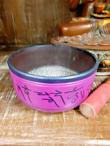 Handmade Tibetan Buddhist Singing Bowl - Handmade for Sabirian