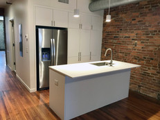 Custom Cabinets & Counter for Office Kitchen