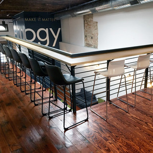 New Working Spaces at Ahalogy